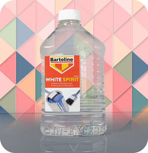 Bartoline Brush Cleaner & Paint Thinner White Spirit - 2 Litres