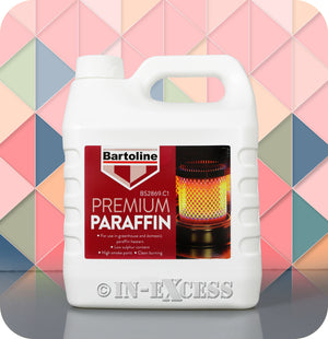 Bartoline Greenhouse & Domestic Heater Paraffin Fuel - 4 Litres