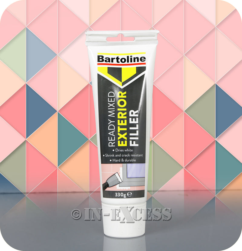 Bartoline Ready Mixed Exterior Surface White Smooth Filler - 330g
