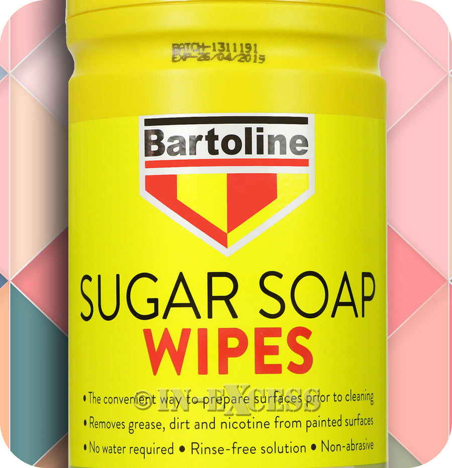 Bartoline Sugar Soap Wipes - 80XL Wipes