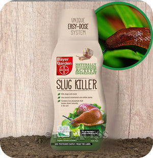 Bayer Garden Natural Slug Killer Plant Safe Pellets - 700g