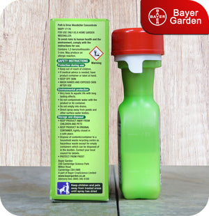 Bayer Garden Path & Drive Dual Action Weedkiller Concentrate - 90ml