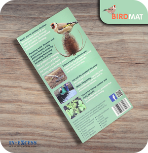 Beemat Bird Mat Pre-Seeded Grow Mat for Wild Birds