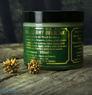 Natural Creamy Beeswax 250ml