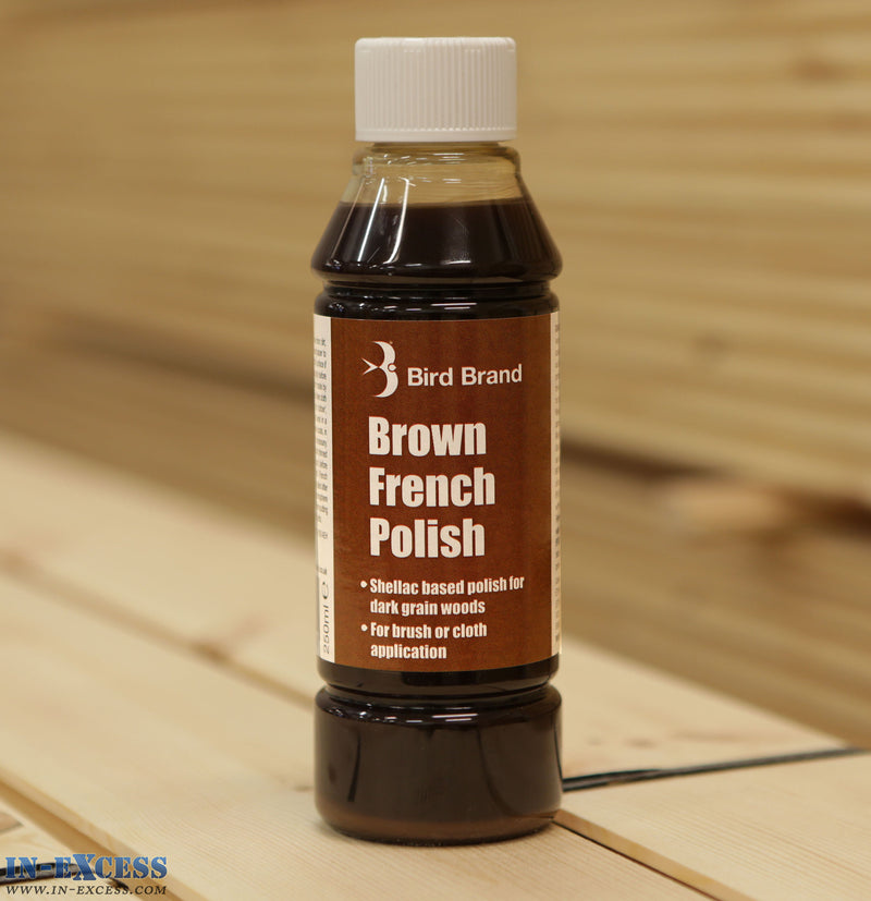 Bird Brand Brown French Polish Fluid 250ml