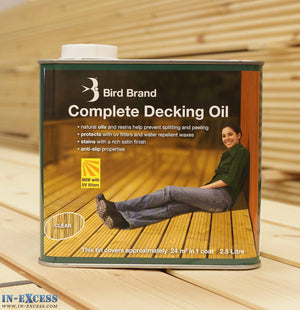 Bird Brand Complete Decking Oil 2.5L - Clear
