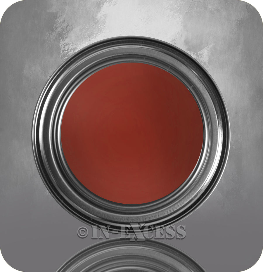 Bird Brand Gloss Metal Red Oxide Paint 1 Litre - Red