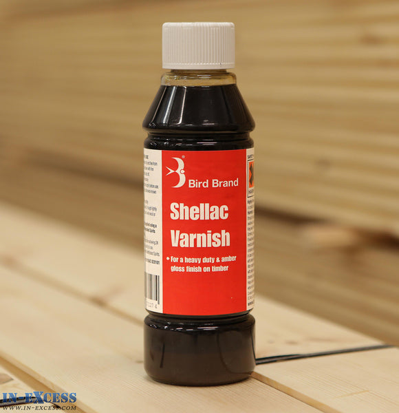Bird Brand Shellac Varnish 250ml