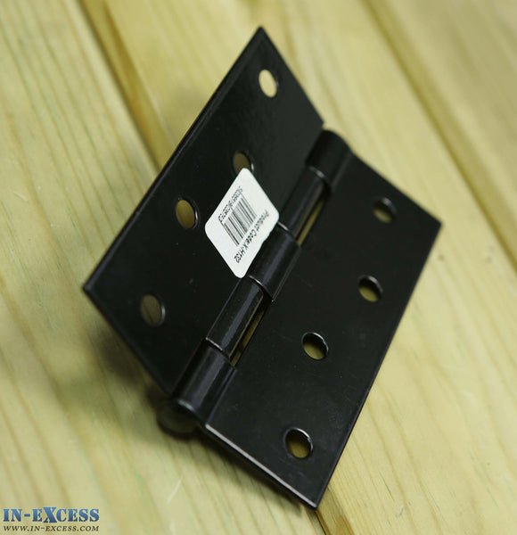5 Pairs of Large 100mm Black Fixed Pin Butt Hinge Farmhouse Interior/Exterior