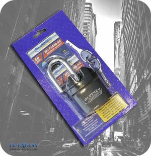 BlueKey Security 60mm MS-CSA60-KA High Security Padlock