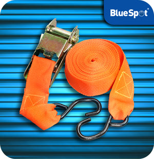 Blue Spot Tie Downs Ratchet Tie Down Straps - 7.5 Metres