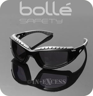 Bolle Safety TRACPSF Tracker 2 High Protection Safety Glasses - Smoked Lenses