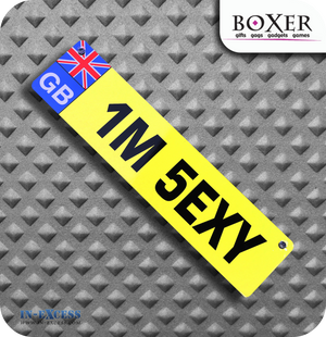Boxer Gifts I'm Sexy Novelty Car Window Sign - Great Britain