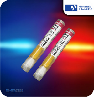 Alcohol Test Breathalyser - Pack of 2