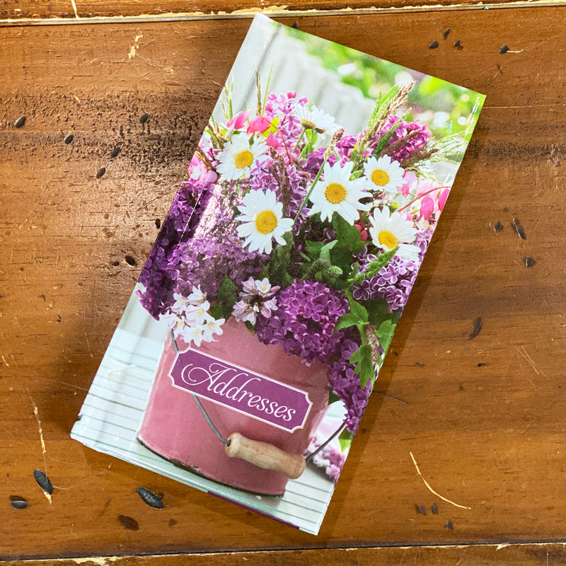 Baker & Taylor Address Book - Daisy Bouquet Gloss design