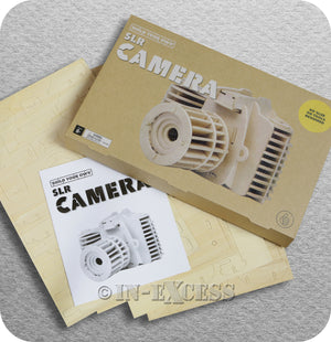 Thumbs Up Build Your Own Model Wooden SLR Camera