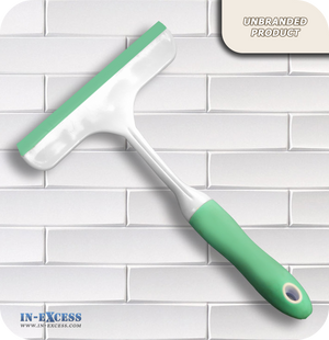"Turquoise Window & Glass  Squeegee - 6"" Blade"