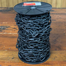 Ace 38.8M Black Decorative Plastic Chain - Social Distancing Barrier