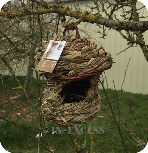 ChapelWood Wildlife Bird Natural Roosting Box Pocket - Bamboo Leaf
