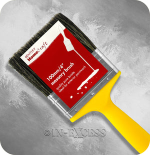 Charles Bentley HomeCraft Professional Masonry Paint Brush - 4""