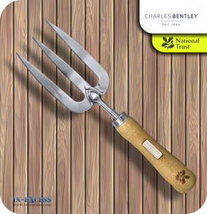 Charles Bentley National Trust Hand Fork & Glove Set