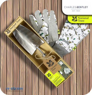 Charles Bentley National Trust Hand Trowel & Glove Set