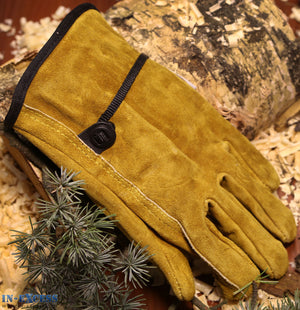 Charles Rose Blackthorn Suede Premium Leather Gardening Gloves S M L XL