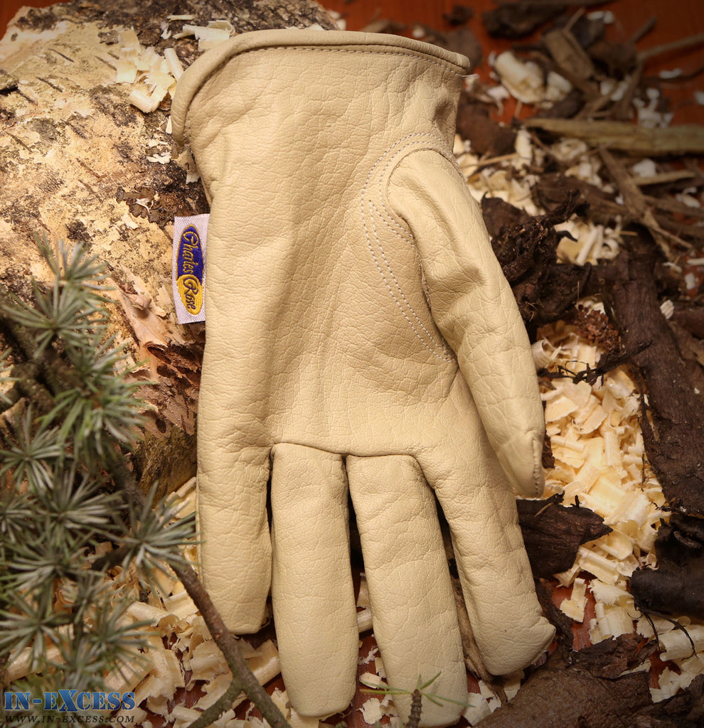 Charles Rose Burley Premium Leather Gardening Gloves S M L XL