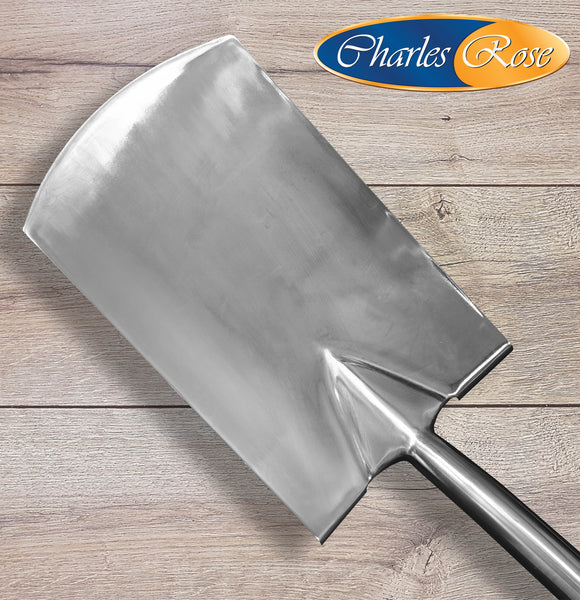 Charles Rose Stainless Steel With Ash Handle Border Spade