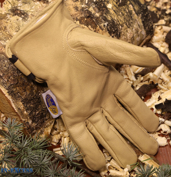 Charles Rose Bramshaw Premium Leather Gardening Gloves S M L XL