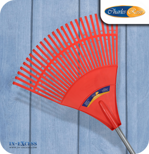Charles Rose Poly Leaf Rake - 640mm (CR-055)