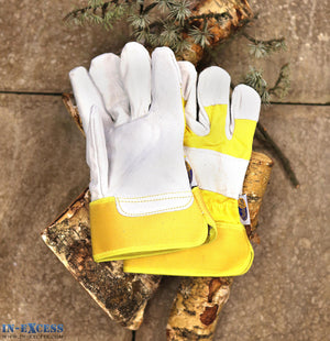 Charles Rose Rockford Rigger Premium Leather Gardening Gloves S M L XL