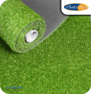 Charles Rose Top Lawn Realistic Artificial Grass - 1 x 4 Metres