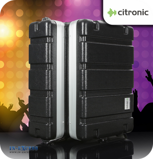 Citronic Moulded ABS Flightcase for DJ Equipment