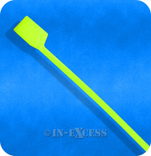 Coloured Grip Tie Electrical Cable Tie Back Cable Ties - Florescent Green