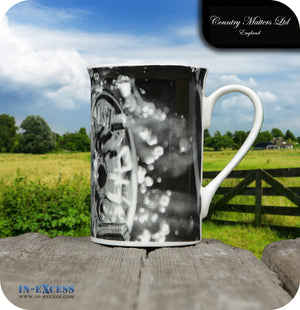 Country Matters Fine Bone China Tea Mug - 'Screaming Reel'