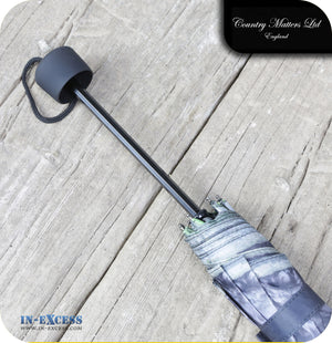 Country Matters Telescopic and Folding Umbrella - 'Coco Choc Cocker'