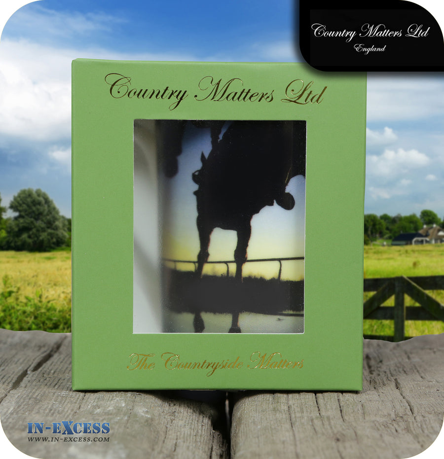 Country Matters Fine Bone China Tea Mug - 'Water Jump'