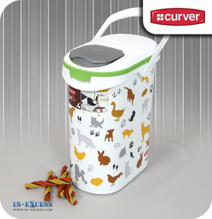 Curver Multi Pet Dry Food Container - 4kg (10litres) (216701)