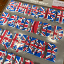 Decor XL Relief Decor Stick On Self Adhesive Union Jack Alphabet Letters
