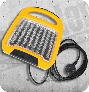 Defender Industrial Site Ready Compact LED Floor Work Light - 240V