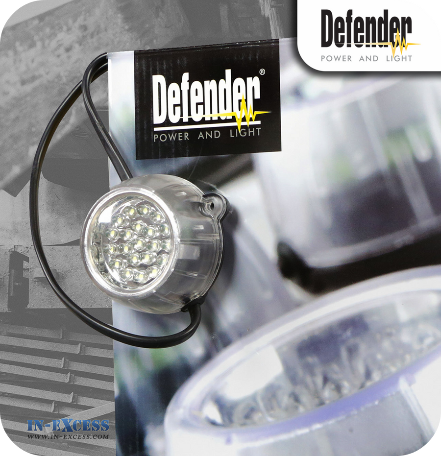 Defender LED Festoon Hanging Light Kit - 22 Metres (E89339)