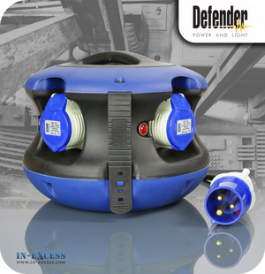 Defender Spider Ball Power Distribution Splitter Unit - 4 Sockets