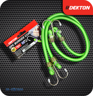 Dekton Bungee Cord With Zinc Plated Steel Hooks 10mm - 24""