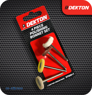 Dekton Polishing Bonnet Set - Pack of 4