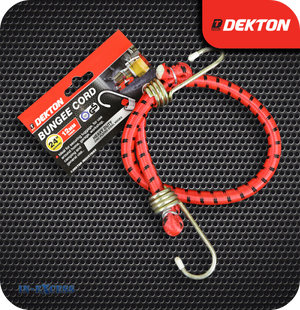 Dekton Bungee Cord With Zinc Plated Steel Hooks 12mm - 24""
