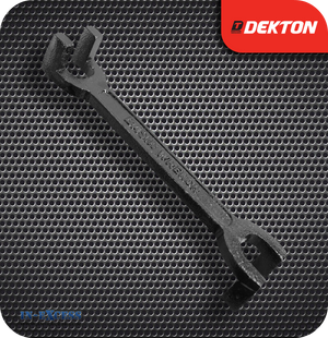 Dekton Cast Iron Double Ended Basin Wrench