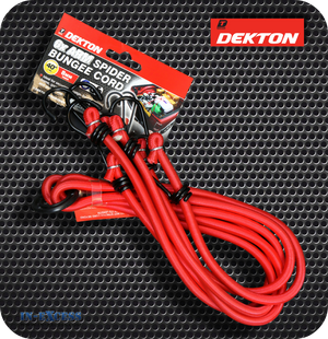 Dekton Heavy Duty 6 Arm Spider Bungee Cord - 1M