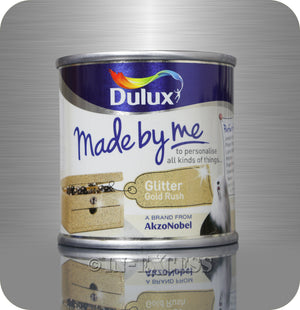 Dulux Made By Me Hobby & Craft Paint 125ml - Glitter Gold Rush