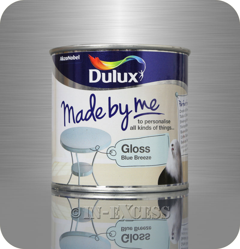 Dulux Made By Me Hobby Furniture Paint 250ml - Gloss Blue Breeze